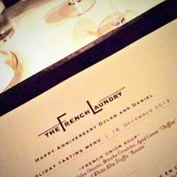 Photo taken at The French Laundry by Dylan H. on 12/17/2013
