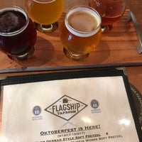 Photo taken at Flagship Taproom by Damian P. on 10/5/2017