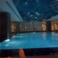 Photo taken at Retaj Royale Hotel - Four Elements Spa & Wellness by muhammet doruk s. on 2/1/2014