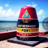 Photo taken at Southernmost Point Buoy by Laasimi on 8/24/2013