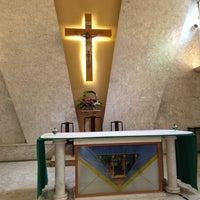 Photo taken at Holy Cross Church 聖十字架天主堂 by Jon Y. on 7/28/2013