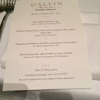 Photo taken at Galvin Bistrot de Luxe by Viktor P. on 3/13/2017