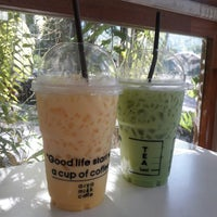 Photo taken at AIYA Cafe' by EVE on 7/27/2017