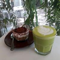 Photo taken at AIYA Cafe' by EVE on 7/26/2017