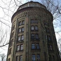3/17/2013 tarihinde Berliner- F.ziyaretçi tarafından Wasserturm'de çekilen fotoğraf