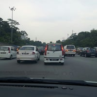 Photo taken at Lebuhraya Damansara-Puchong (LDP) by Yvonne C. on 7/24/2013