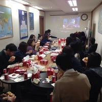 Photo taken at Rohlig Korea by Dave on 11/21/2013