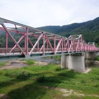 Photo taken at 笠置大橋 by いち(canna15) on 7/2/2017