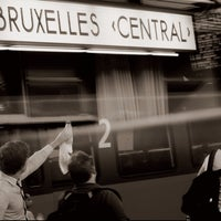 Photo taken at Brussels Central Station by Marc VC on 9/8/2013