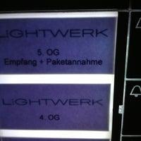 Das Foto wurde bei Lightwerk Internetagentur & Akademie von Benjamin D. am 11/14/2012 aufgenommen