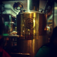 Photo taken at Doolally@1st Brewhouse by Abhishek S. on 12/17/2012