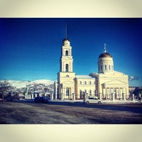 Photo taken at Церковь Троицы Живоначальной by Eugeny A. on 1/21/2014