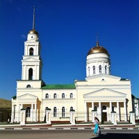 Photo taken at Церковь Троицы Живоначальной by Eugeny A. on 7/22/2014