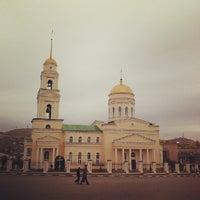 Photo taken at Церковь Троицы Живоначальной by Eugeny A. on 10/4/2012