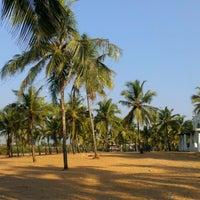 Photo taken at Candolim Beach by Артур Г. on 1/17/2013