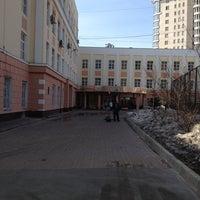 Photo taken at Московская Городская Лингвистическая Гимназия №1513 by Ilya K. on 4/12/2013
