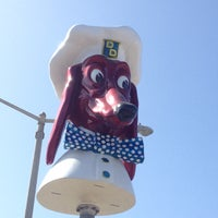 Photo taken at Doggie Diner Head by Mary Rose P. on 3/22/2014