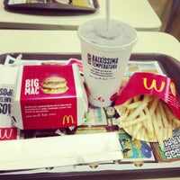 Photo taken at McDonald's by Kadu F. on 1/9/2013