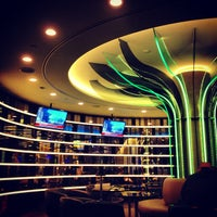 Photo taken at EVA Air Lounge by Mimo S. on 4/14/2013