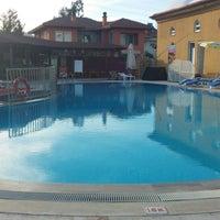 Photo taken at club sahin dalyan by Ayşe G. on 5/18/2014