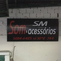 Photo taken at SM Som e Acessorios by Luiz T. on 6/6/2013