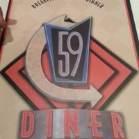 Photo taken at 59 Diner by Jesus A. on 12/23/2012