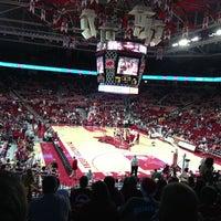 Photo taken at Bud Walton Arena by Marta H. on 12/30/2012