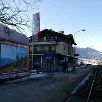 Photo taken at Bahnhof Ried im Zillertal by Leonid B. on 2/17/2015