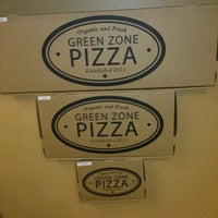 Photo taken at Green Zone Pizza by Mars P. on 1/31/2013