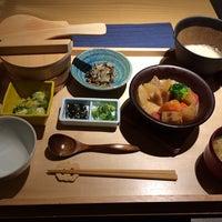 Photo taken at やさい家 めい なんばパークス店 by rashisuke on 1/8/2014