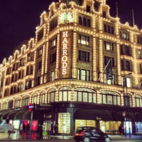 Photo taken at Harrods by Billy T. on 4/11/2013