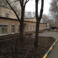 Photo taken at ГБОУ СОШ #494 (Д/С #2161) by Юлия М. on 3/31/2014