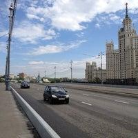 Photo taken at Bolshoy Ustyinsky Bridge by Юлия М. on 6/11/2013
