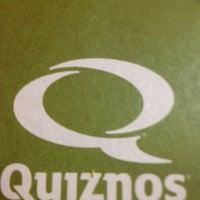 Photo taken at Quiznos by Älexx M. on 8/3/2013