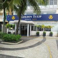 Photo taken at Hotel Golden Tulip Regente by Lia Dantas D. on 5/26/2013