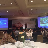Photo taken at Isyana Ballroom by wirawan w. on 9/27/2016