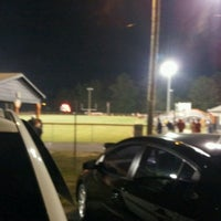 Photo taken at Acworth Warriors Football Field by Sean A. on 9/23/2012