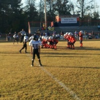 Photo taken at Acworth Warriors Football Field by Sean A. on 11/3/2012