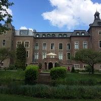 Photo taken at Schloss Neersen by Willicher on 5/3/2014