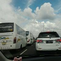 Photo taken at Jalan Tol Jakarta - Cikampek by syifa j. on 2/16/2013
