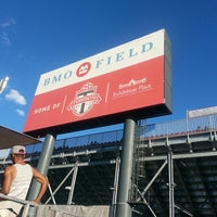 Photo taken at BMO Field by Aaron C. on 8/10/2013