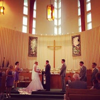 Photo taken at First Congregational Church by Andrew D. on 11/10/2013