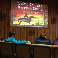 Photo taken at Cowboy Church of Harrison County by Sheri P. on 11/3/2013
