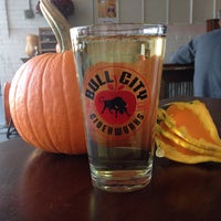 Photo taken at Bull City Ciderworks by Kelly S. on 10/25/2014