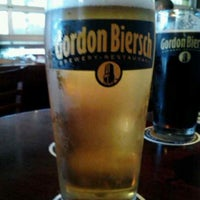Photo taken at Gordon Biersch Brewery Restaurant by Vaska L. on 7/30/2013