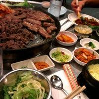 Photo taken at Honey Pig Gooldaegee Korean Grill by mahvee on 12/28/2012