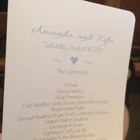 Photo taken at St. Stephen Catholic Church by Allegra S. on 8/16/2014