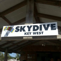 Photo taken at Sky Dive Key West by Angela B. on 12/8/2013