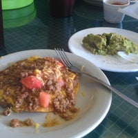 Photo taken at Yoli's Tacos & Barbacoa To Go by Tara on 11/9/2012