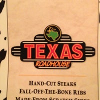 Photo taken at Texas Roadhouse by Greg P. on 1/10/2013